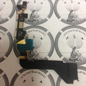 Шлейф для iPhone 4 + разьем зарядки (белый), Original