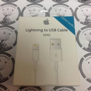 USB для iPhone 6 / iPhone 5 / iPad4 / iPad Mini / iPod Nano (в коробке) белый, ориг